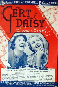 Elsie and Doris songbook