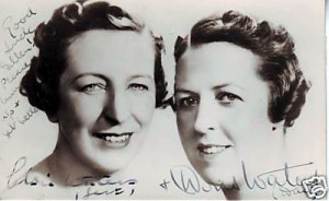 Elsie and Doris young