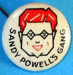 sandy powell badge